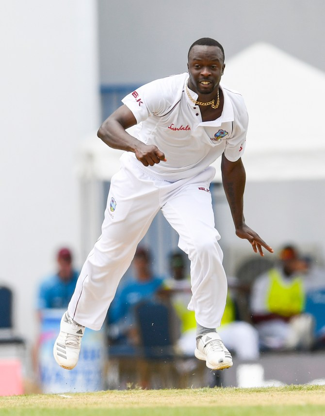 Kemar Roach rested second Test Bangladesh Jamaica West Indies cricket