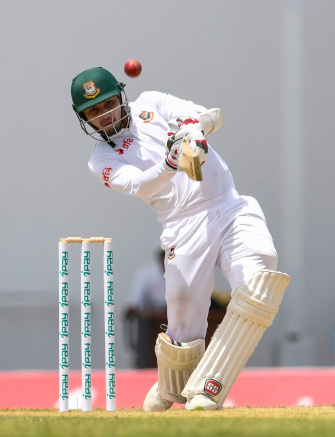 Nurul Hasan 64 West Indies Bangladesh 1st Test Day 3 Antigua cricket