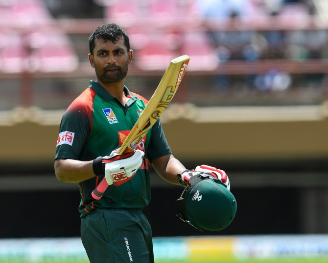 Tamim Iqbal 130 not out West Indies Bangladesh 1st ODI Guyana cricket