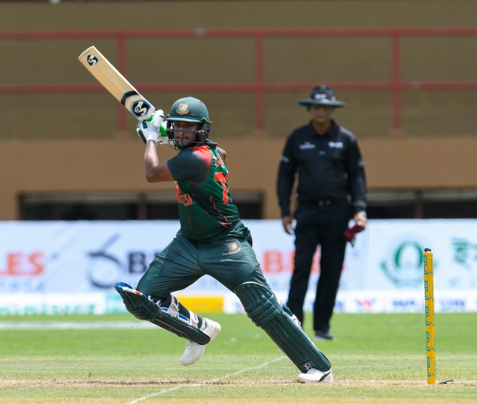 Shakib Al Hasan 97 West Indies Bangladesh 1st ODI Guyana cricket