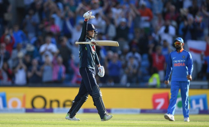 Joe Root 100 not out England India 3rd ODI Headingley cricket