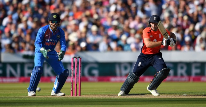 Jos Buttler 69 England India 1st T20 Manchester cricket