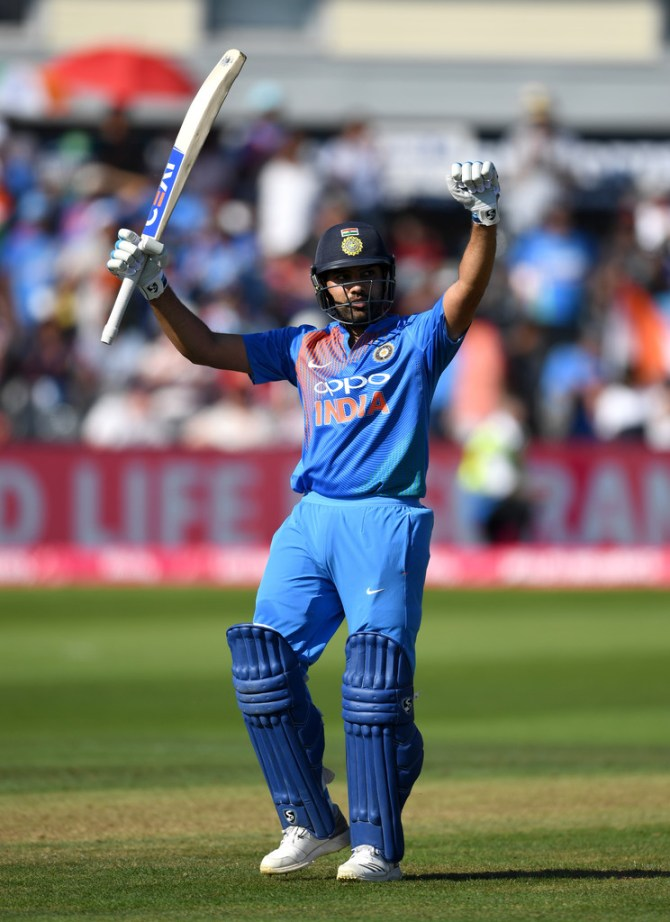 Rohit Sharma 100 not out England India 3rd T20 Bristol cricket