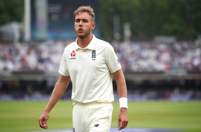 Stuart Broad ankle injury injections prove fitness India Test series England cricket