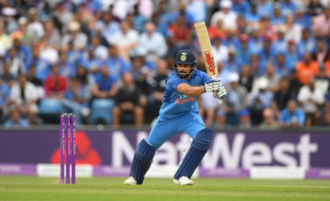 Virat Kohli 71 England India 3rd ODI Headingley cricket