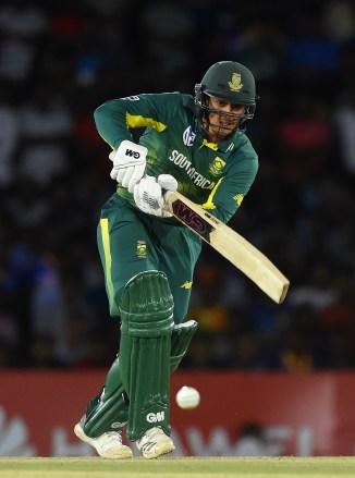 Quinton de Kock 87 Sri Lanka South Africa 2nd ODI Dambulla cricket