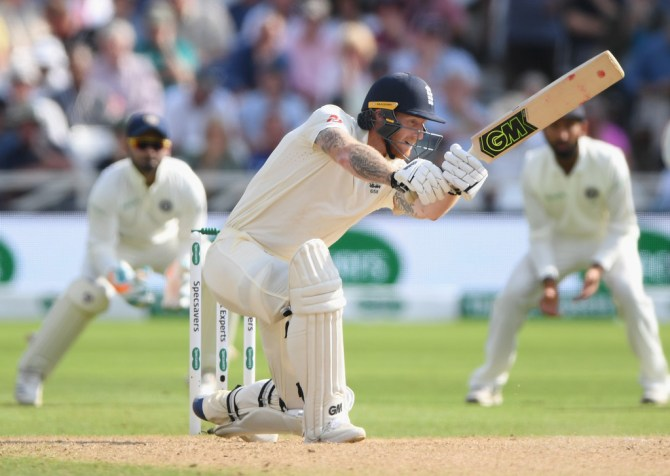 Ben Stokes 62 England India 3rd Test Day 4 Nottingham cricket