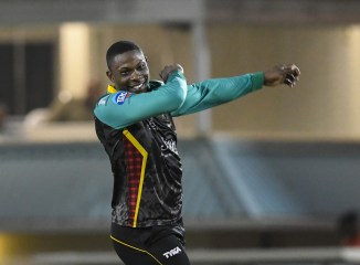 Sheldon Cottrell three wickets St Kitts and Nevis Patriots St Lucia Stars Caribbean Premier League CPL cricket