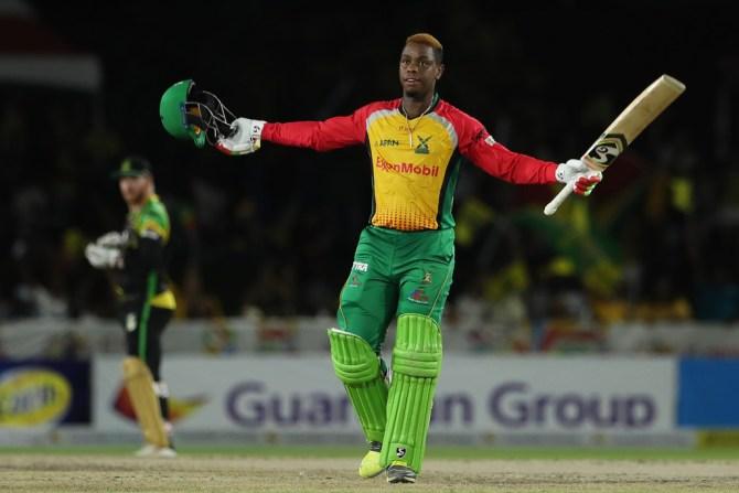 Shimron Hetmyer 100 Guyana Amazon Warriors Jamaica Tallawahs Caribbean Premier League CPL cricket