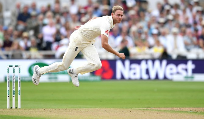 Stuart Broad fined 15 percent match fee demerit point send-off dismissing Rishabh Pant England India 3rd Test Nottingham