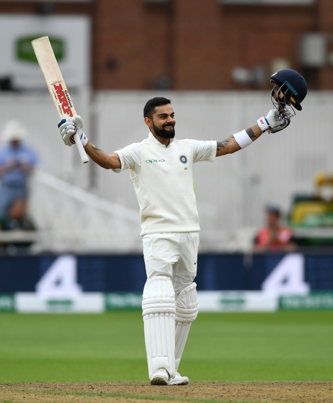 Virat Kohli 103 England India 3rd Test Day 3 Nottingham cricket