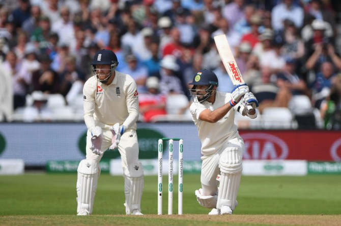 Virat Kohli 97 England India 3rd Test Day 1 Nottingham cricket