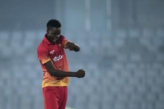 Blessing Muzarabani signs three-year deal with Northamptonshire Zimbabwe cricket