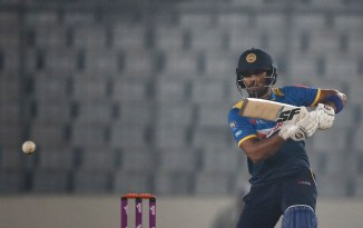 Dinesh Chandimal ruled out Asia Cup fractured right middle finger Sri Lanka cricket