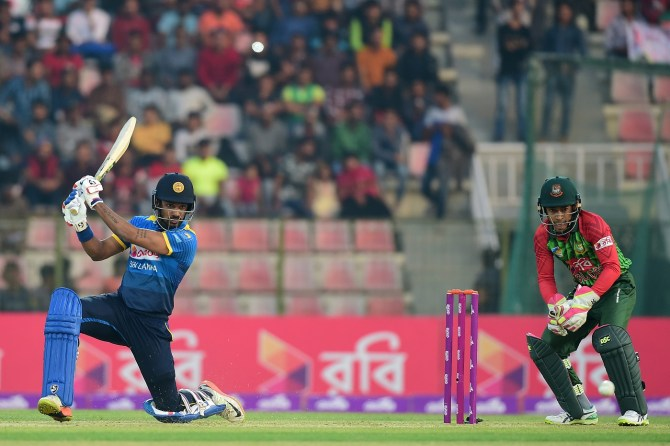 Danushka Gunathilaka ruled out Asia Cup lower back injury Sri Lanka cricket
