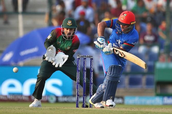 Hashmatullah Shahidi 58 Afghanistan Bangladesh Asia Cup cricket