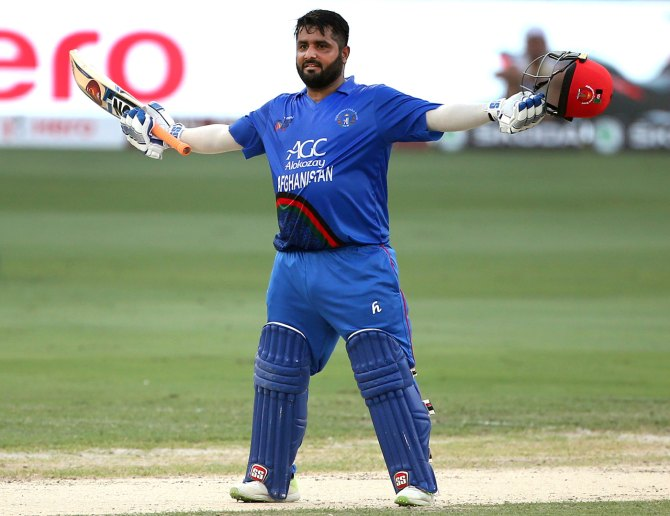 Mohammad Shahzad 124 Afghanistan India Asia Cup Super Four cricket