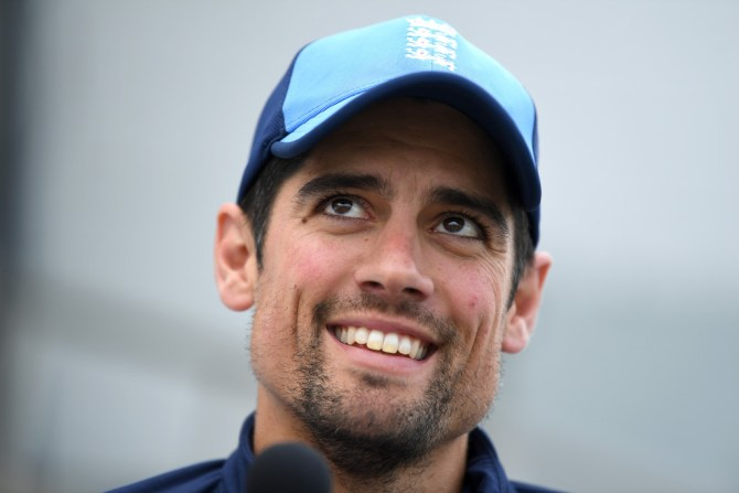 Alastair Cook cried when telling teammates that he would be retiring England cricket