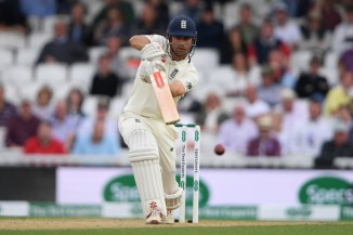 Alastair Cook 46 not out England India 5th Test Day 2 The Oval cricket