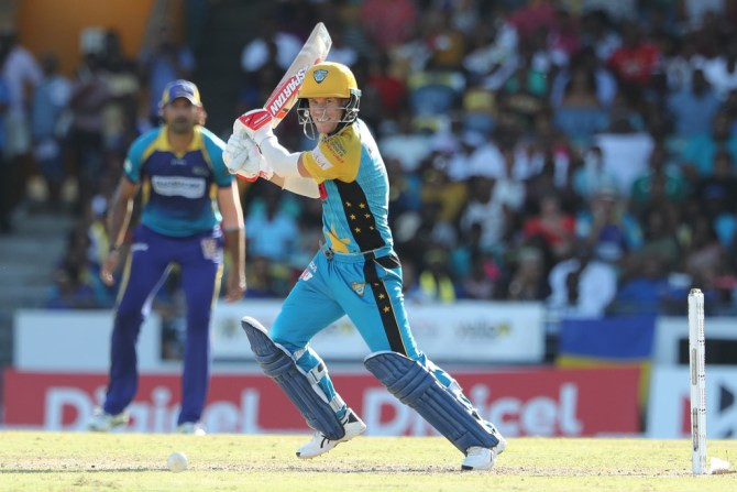 David Warner 42 not out St Lucia Stars Barbados Tridents Caribbean Premier League CPL cricket