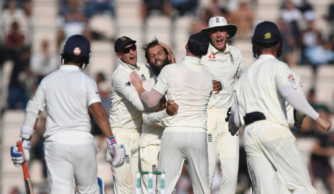 Moeen Ali four wickets England India 4th Test Day 4 Southampton cricket