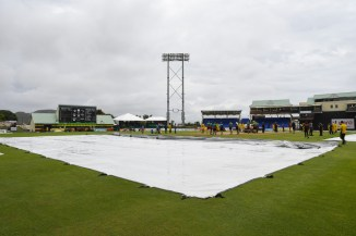 St Kitts and Nevis Patriots St Lucia Stars match abandoned due to rain Caribbean Premier League CPL cricket