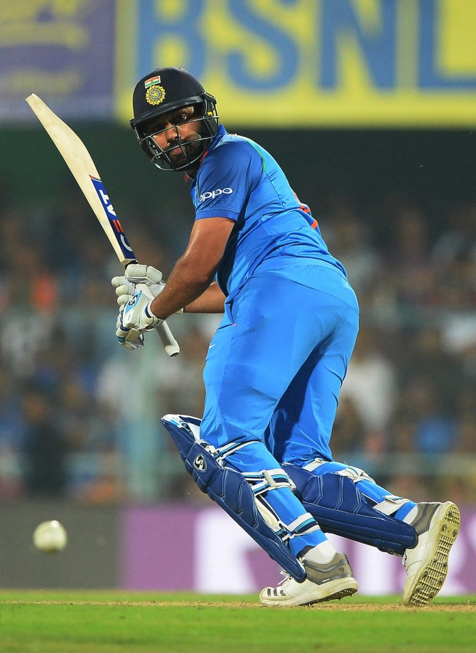 Rohit Sharma 152 not out India West Indies 1st ODI Guwahati cricket