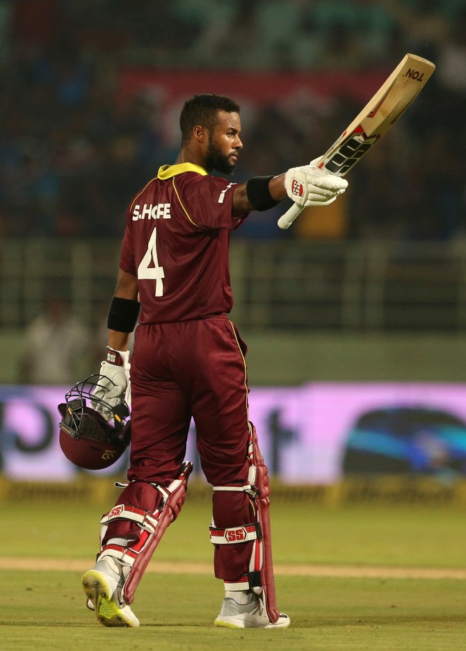 Shai Hope 123 not out India West Indies 2nd ODI Visakhapatnam cricket