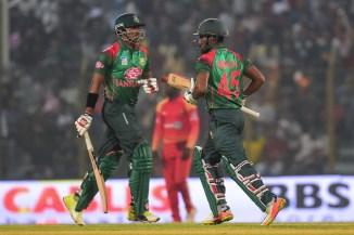 Soumya Sarkar 117 and Imrul Kayes 115 Bangladesh Zimbabwe 3rd ODI Chittagong cricket