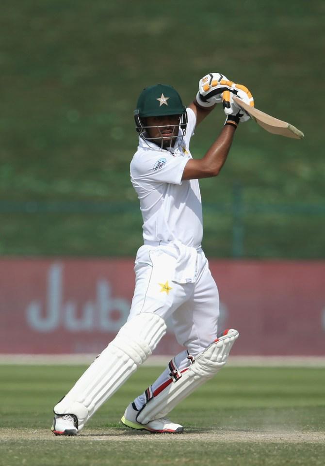 Babar Azam 99 Pakistan Australia 2nd Test Day 3 Abu Dhabi cricket