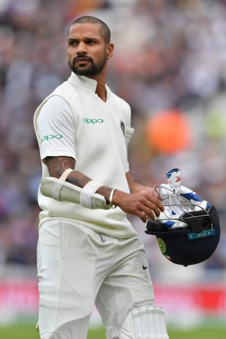 Shikhar Dhawan dropped West Indies Test series India cricket