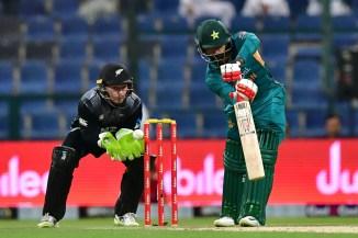 Mohammad Hafeez 45 Pakistan New Zealand 1st T20 Abu Dhabi cricket
