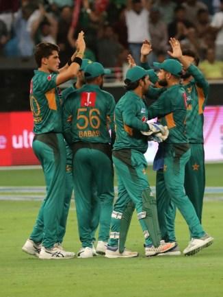 Shaheen Shah Afridi three wickets Pakistan New Zealand 2nd T20 Dubai cricket