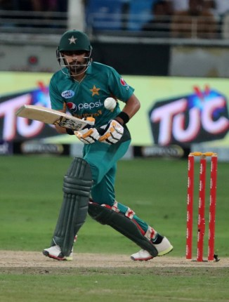 Babar Azam 79 Pakistan New Zealand 3rd T20 Dubai cricket