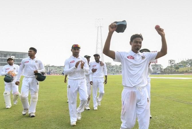 Taijul Islam five wickets Bangladesh Zimbabwe 1st Test Day 3 Sylhet cricket