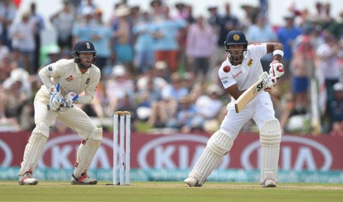 Dinesh Chandimal ruled out second Test England Kandy Sri Lanka cricket