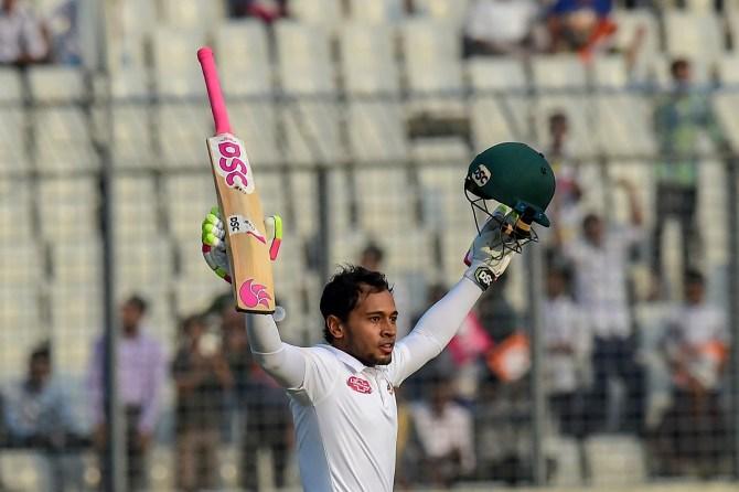 Mushfiqur Rahim 111 not out Bangladesh Zimbabwe 2nd Test Day 1 Dhaka cricket