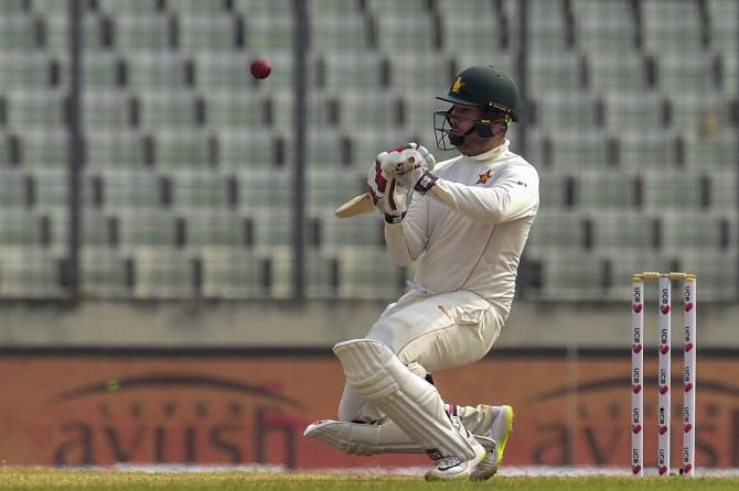 Brendan Taylor 106 not out Bangladesh Zimbabwe 2nd Test Day 5 Dhaka cricket