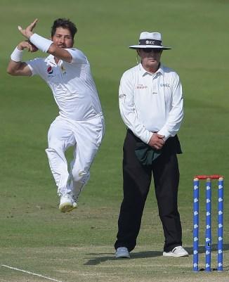 Yasir Shah five wickets Pakistan New Zealand 1st Test Day 3 Abu Dhabi cricket