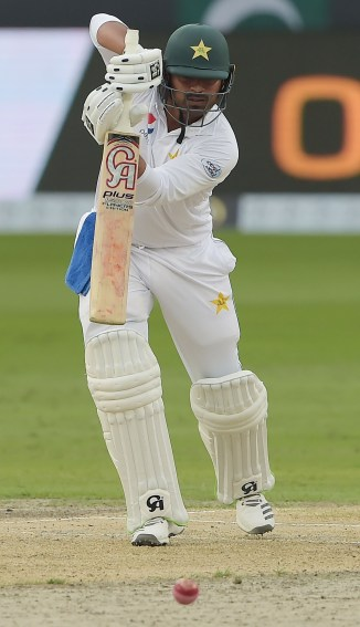 Haris Sohail 147 Pakistan New Zealand 2nd Test Day 2 Dubai cricket