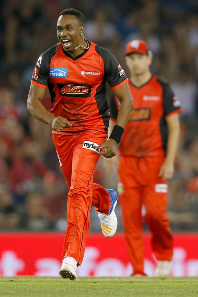 Dwayne Bravo signs with Melbourne Stars Big Bash League BBL cricket