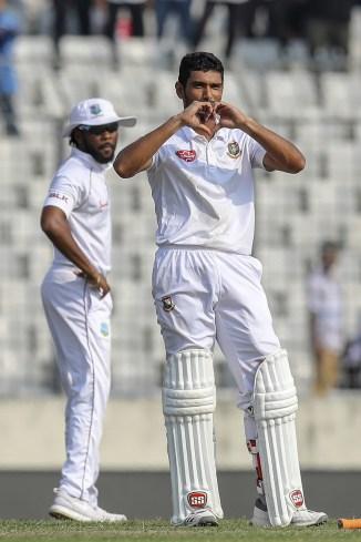Mahmudullah 136 Bangladesh West Indies 2nd Test Day 2 Dhaka cricket