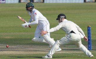 Azhar Ali 62 not out Pakistan New Zealand 3rd Test Day 2 Abu Dhabi cricket