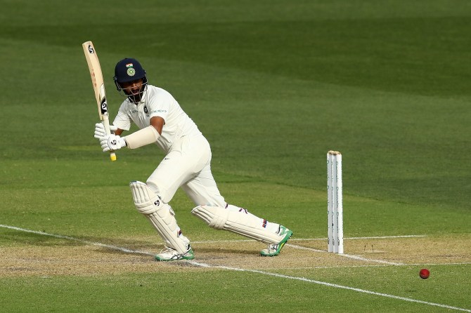 Cheteshwar Pujara 40 Australia India 1st Test Day 3 Adelaide cricket