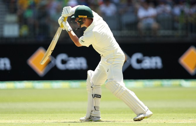 Marcus Harris 70 Australia India 2nd Test Day 1 Perth cricket