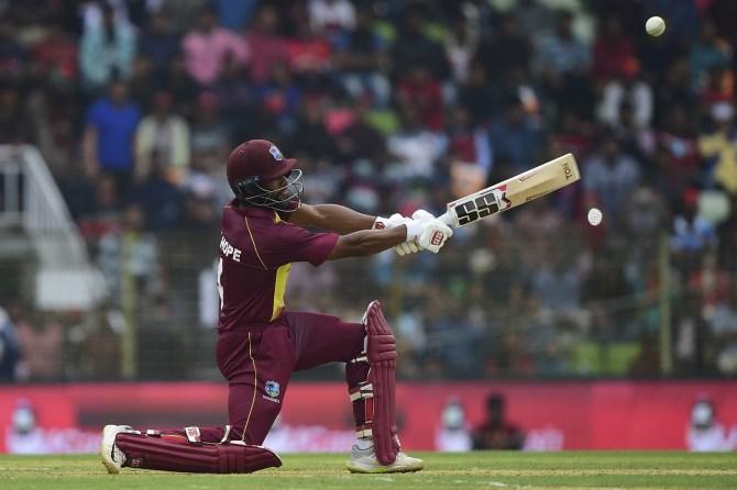 Shai Hope 55 Bangladesh West Indies 1st T20 Sylhet cricket