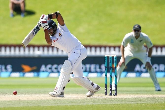 Kusal Mendis 116 not out New Zealand Sri Lanka 1st Test Day 4 Wellington cricket