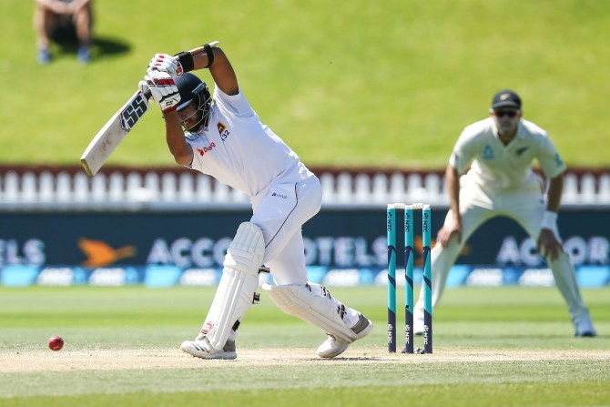 Kusal Mendis 116 not out New Zealand Sri Lanka 1st Test Day 4 Wellington cricket
