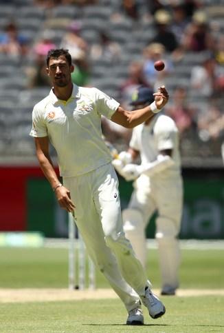 Mitchell Starc Australia beat India 146 runs 2nd Test Day 5 Perth cricket