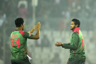 Shakib Al Hasan 42 runs five wickets Bangladesh West Indies 2nd T20 Dhaka cricket